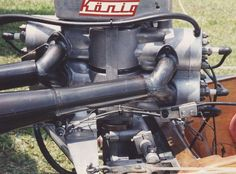 Vintage Konig Outboard Racing Motors