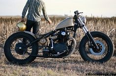 SOA is making me obsessed with bikes again...XS650 Chopper