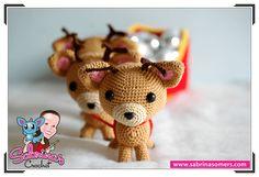 Christmas Sleigh - Crochet Pattern - Amigurumi