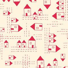 Creative Thursday - The Red Thread - Sweet Street in Cream