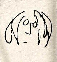 Artwork by John Lennon on Display John Lennon Lyrics, John Lennon Beatles, The Beatles, Beatles Tattoos, Lyric Tattoos, Happy Birthday John, Imagine John Lennon, Yesterday And Today, Film Music Books