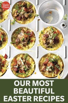 Our Most Beautiful Easter Recipes Taste Of Home, Easter Brunch, Holiday Tables, Easter Recipes, Breakfast Recipes, Most Beautiful, Dishes, Food, Tablewares
