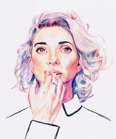 Pencil drawing of st vincent