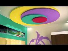Modern False Ceiling Designs Interior Ceiling Design For Living Room Bedroom - YouTube Interior Ceiling Design, Bedroom False Ceiling Design, Home Interior, Design Bedroom, Interior Designing, Ceiling Plan, Ceiling Beams, Ceiling Lights, Ceilings