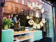 Talor & Jørgen isn't just a place to get amazing doughnuts & coffee; their business ethos is also top-notch. I'm just happy when I go there...