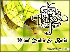 Hari Raya Wishes, Eid Mubarak Gif, Selamat Hari Raya, Muslim Quotes, Islamic Quotes, Happy Eid, Iphone Wallpaper, Words, Design