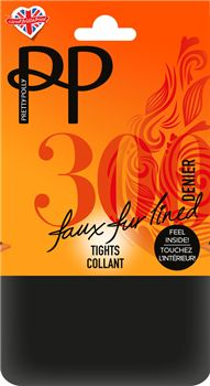 8f3042928 Pretty Polly 300 Denier Marl Fleecy Tights