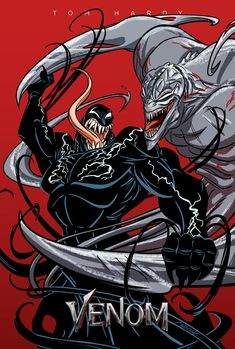 Venom Poster by Hyper-Venom on DeviantArt Marvel Comics, Marvel Venom, Marvel Villains, Marvel Comic Universe, Marvel Art, Marvel Characters, Marvel Cinematic Universe, Marvel Avengers, Symbiotes Marvel