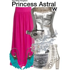 Inspired by Ester Zynn as Princess Astral on The Other Kingdom