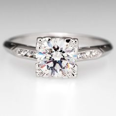 GIA Diamond Engagement Ring