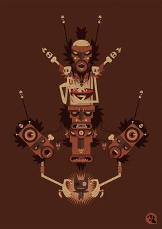Totems by Vincent Roche