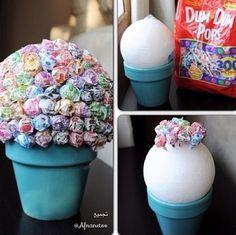 --Dum Dum Lollipops bouquet