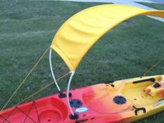 This is a great idea for open water paddling.  It looks fairly easy and like you could adapt the design to your kayak's needs