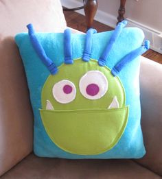 Oliver's Monster Pillow