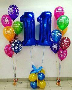 Композиции - фонтаны Happy Brithday, Ideas Para Fiestas, Balloon Decorations, Kids Rainbow, Birthday, Superman, Portal, Drawings, Party