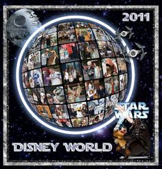 Disney World Wars Weekends Shutterfly Book Cover Click image to go to full credits