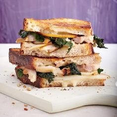 Cooking with Chicken Thighs: Fig-Glazed Chicken Panini  Sandwich with Brie Recipe | CookingLight.com