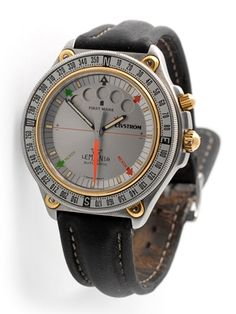Lemania Elvstrom - nice sailing watch named after my first sailing here - Paul elvstrom