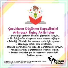 Counseling Psychology, School Counseling, Infant Activities, Activities For Kids, Kids And Parenting, Parenting Hacks, Meaningful Sentences, Kids Planner, Learn Turkish Language