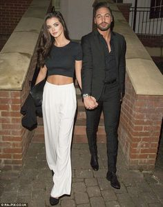 Mario Falcone left fans thinking he had split up with girlfriend Emma McVey after Wednesday night's episode of TOWIE. Mario Falcone, Chloe Lewis, Kiss Day, Girlfriends, Public, Salad, Pairs, Dinner, Bed