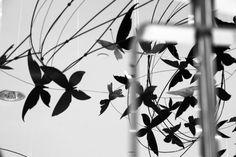 Teresa Leung Wire Art Ceiling Installation @ Hudson Bay