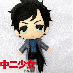 Sherlock Holmes Cape Robe DETECTIVE Anime Cosplay DIY toy Doll keychain Material $15.78                                                                                                                                                      More
