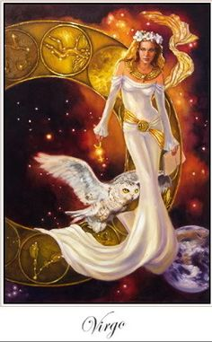 Virgo the most beautiful of all zodiac symbols. Represented by a beautiful woman. #virgo