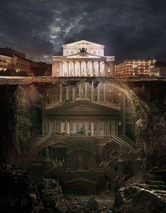 Bolshoi Theatre by Carioca 1249px X 1600px