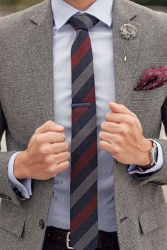 Men's Tie Inspiration #4 Follow MenStyle1.com... | MenStyle1- Men's Style Blog
