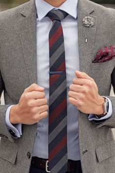 Men's Tie Inspiration #4 Follow MenStyle1.com... | MenStyle1- Men's Style Blog