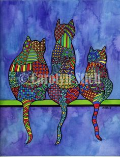 #613 Dogs Have Owners Cats Have Staff - Carolyn Stich Studio