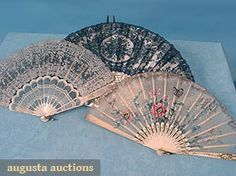 North America's auction house for Couture & Vintage Fashion. Augusta Auctions accepts consignments of historic clothing and textiles from museums, estates and individuals. Hand Fans, Clothing And Textile, Historical Clothing, Beautiful Bags, North America, Vintage Inspired, Past, Auction, Vintage Fashion