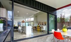Bring the outside in with sliding and stacking aluminium doors. #trend