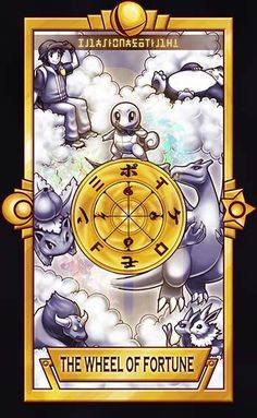Pokemon Trainer - The Wheel of Fortune by Quas-quas on DeviantArt