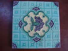 vintage Japanese M S tileworks .  artnouveau... tile