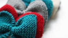 VINTAGE BOW by Ministrikk.no: Varier med forskjellige farger –så passer de til ethvert antrekk. Fargekoder, garntype, gode tips til feste mm, finnes i mønster...