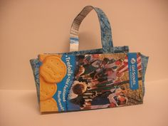 girl scout cookie box purse - Google Search