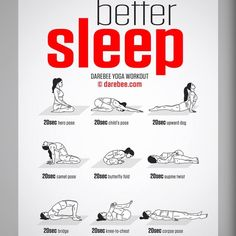 Better Sleep Yoga Workout ähnliche tolle Projekte und Ideen wie im Bild vorgest. Better Sleep Yoga Workout Similar great projects and ideas as shown in the picture you'll also find in our magazine. We are looking forward to your visit. Fitness Workouts, Yoga Fitness, Fitness Motivation, Health Fitness, Yoga Workouts, Quick Workouts, Women's Health, Killer Ab Workouts, Beginner Yoga Workout