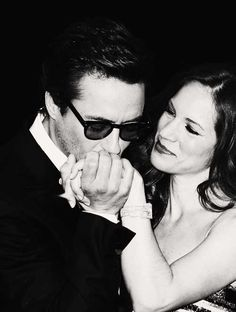 "Robert and Susan Downey: ""I don't joke when I say she is my better half. She truly is. I cannot believe what a fantastic life I have today."""