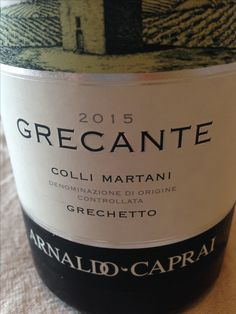 Grechetto ottimo!!! Wine, Drinks, Bottle, Desserts, Food, Drinking, Tailgate Desserts, Beverages, Eten
