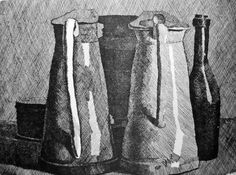 Naturalism - the Eighth Sense: Giorgio Morandi Etchings: Looking Back into the Art of Etching