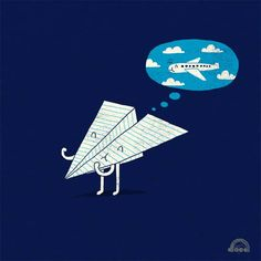I love this! #paperairplane