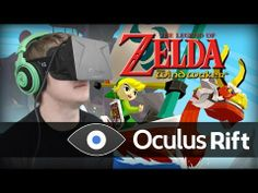 Zelda: Wind Waker on Oculus Rift in True First Person - YouTube