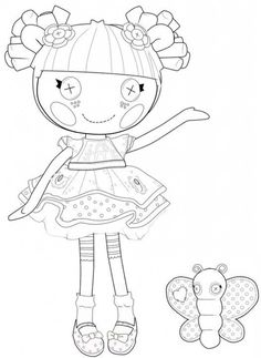 The Best Lalaloopsy Coloring Pages