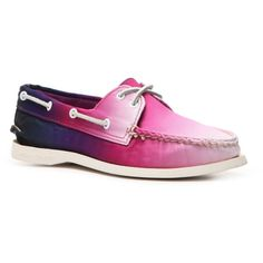 Sperry Top-Sider A/O Canvas Boat Shoe | DSW ($50) ❤ liked on Polyvore featuring shoes, sperry, boat style shoes, deck shoes, sperry footwear and boat shoes