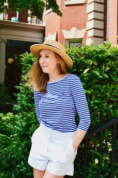 J. Crew for Summer, Striped Preppy Outfit, Summer Preppy Outfit. J. Crew Factory // Daily Dose of Prep #jcrewalways
