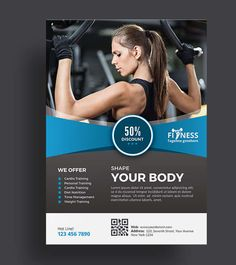 Pin by Fit Templates on Fitness Flyer Ideas | Pinterest | Wellness ...