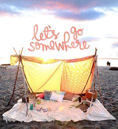 Let's go somewhere #travel