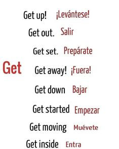 Get Moving, Getting Out, English, Math Equations, English Language