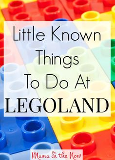 You do not want to miss any of these little known things to do at LEGOLAND. I spoke with two LEGOLAND insiders and got the scoop for you!